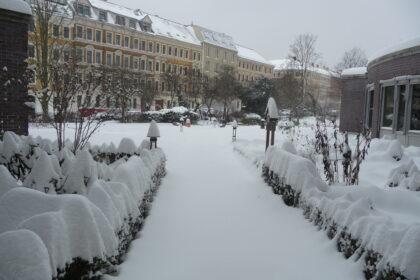 Winterzauber im Angelika-Stift Leipzig
