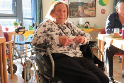 Unsere Bewohnerin Frau Gertrud Brzoska wird 100 Jahre!