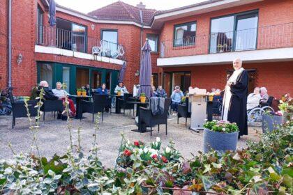 Ostergottesdienst mit Pastor Feldmann in der Cura in Borgstedt