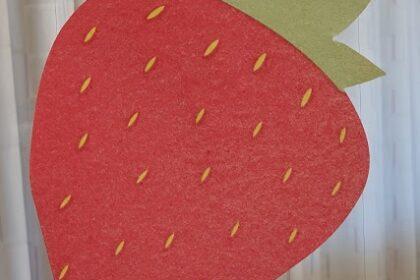 Kleiner Erdbeer-Basar