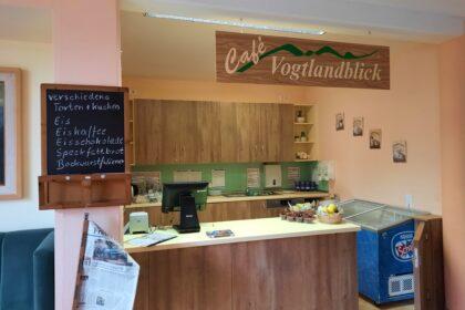 Café Vogtlandblick wieder geöffnet