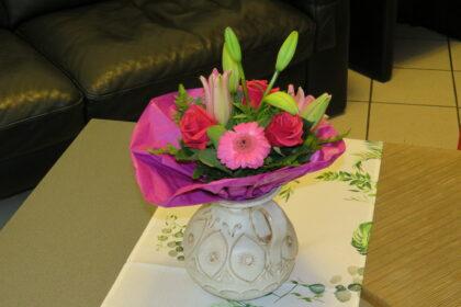 Seniorenbeirat überreichte Blumen