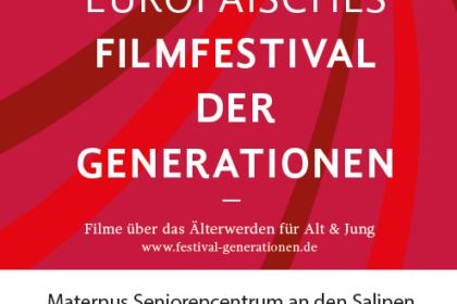 12. Europäisches Filmfestival der Generationen – Wir sind wieder dabei!