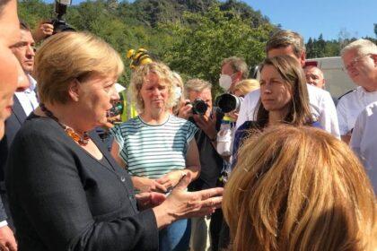 Frau Merkel zu Besuch in Altenahr