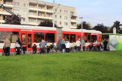 Straßenbahnrundfahrt durch Halle